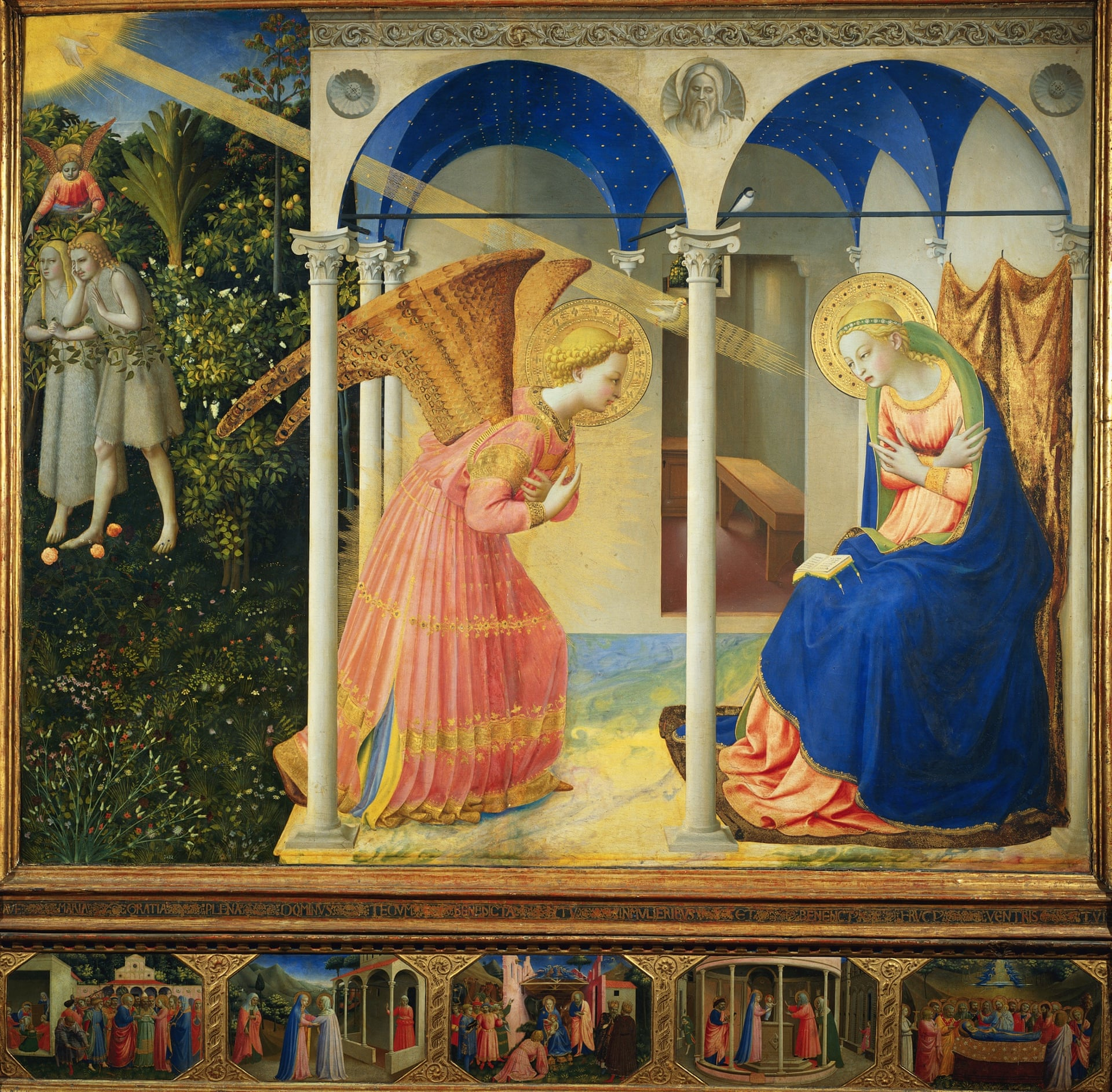 the annunciation fra angelico 1438 1445