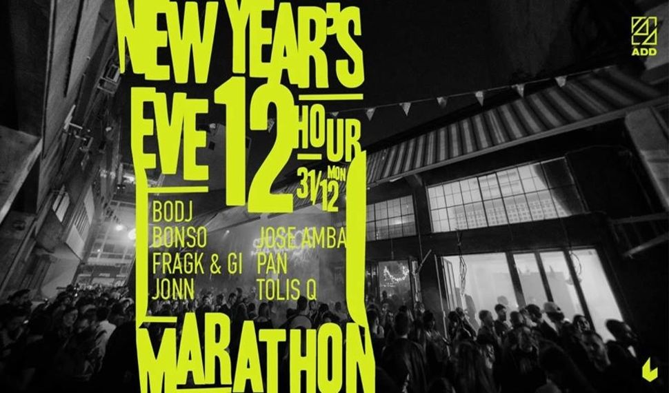 New Year's Eve: A 12-Hour Marathon Party στο six D.o.g.s.